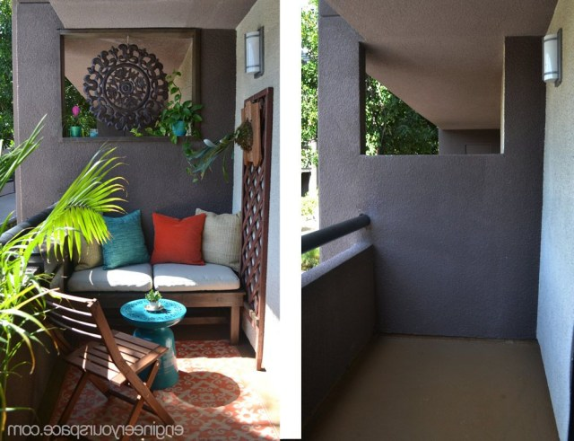 This Rental Balcony Makeover Is Full Of Small Balcony