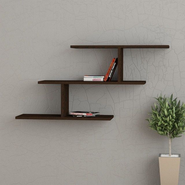 This Simple And Popular Modern Style Wall Shelf Has An
