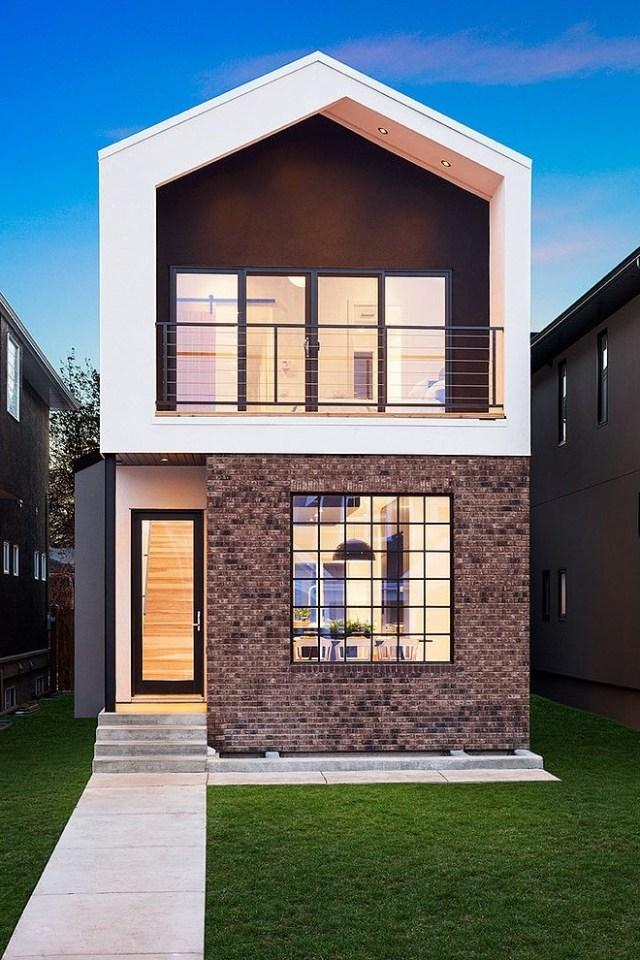 Top 10 Modern House Designs For 2013 Facade House Small