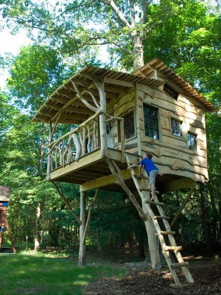 Treehouses Have A Sense Of Nostalgia Built Into Their