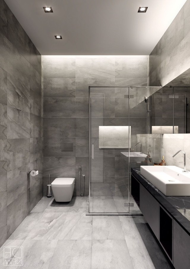 Two Apartments With Texture One Soft One Sleek Grey