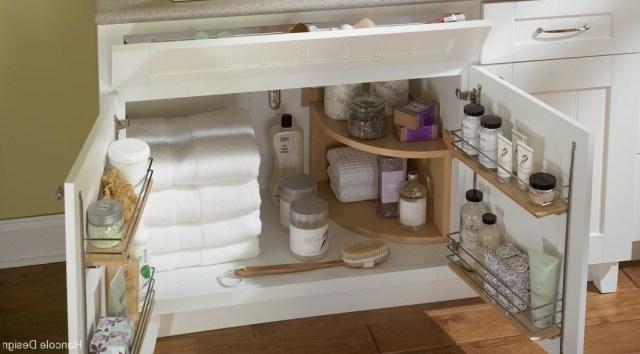 Under The Sink Bathroom Storage Solution Organizing