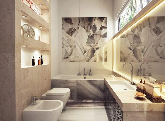 Unique Bathroom Designs Decoration For House
