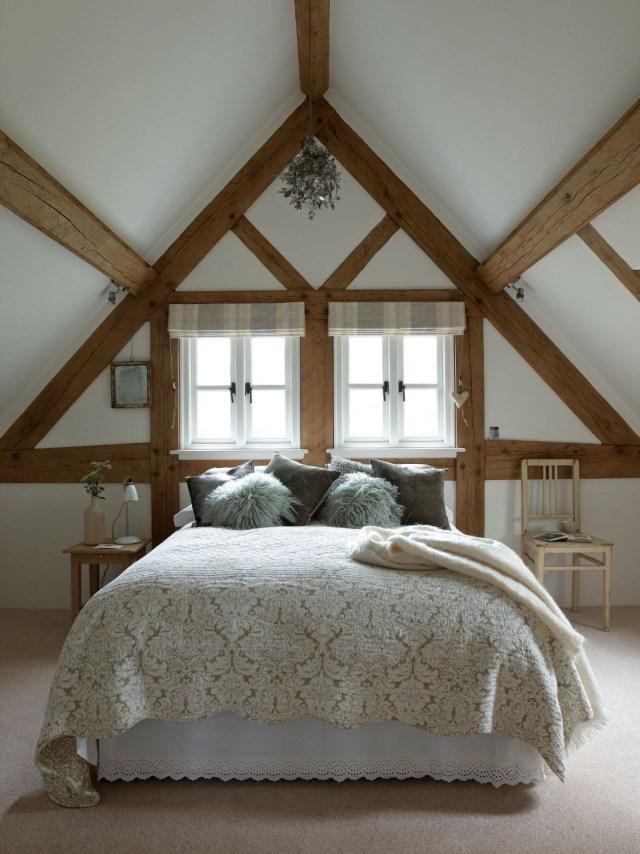 Vaulted Ceiling Bedroom Oak Framing Wwwborderoak