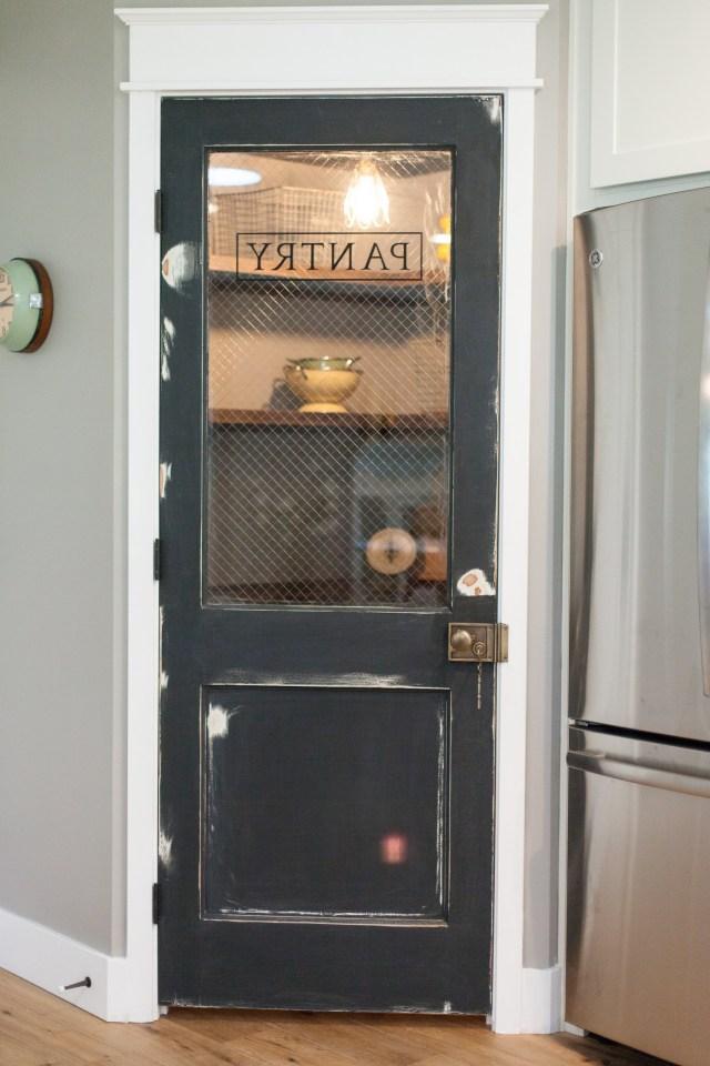 Vintage Door Repurposed As Pantry Door Rafterhouse