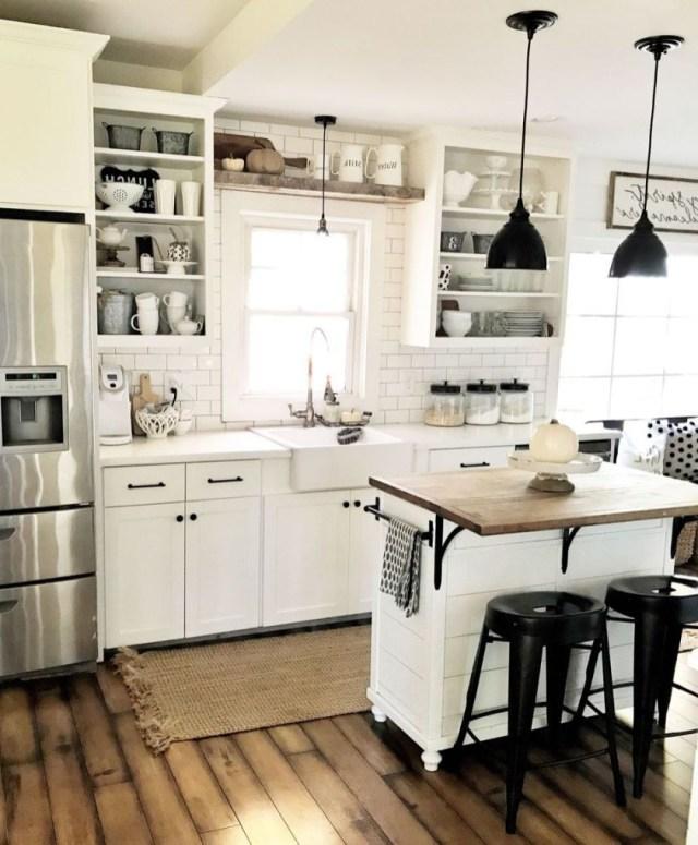 Vintage Farmhouse Kitchen Island Inspirations 18