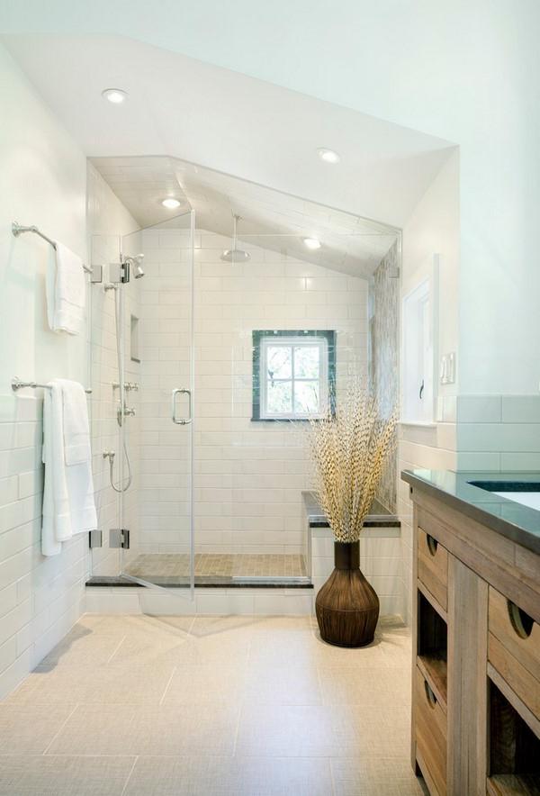 Walk In Shower Designs Unique Modern Bathroom Interiors