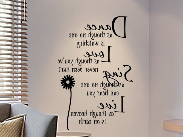 Wall Decals For Teens Girls Bedroom Wall Decal Dance As