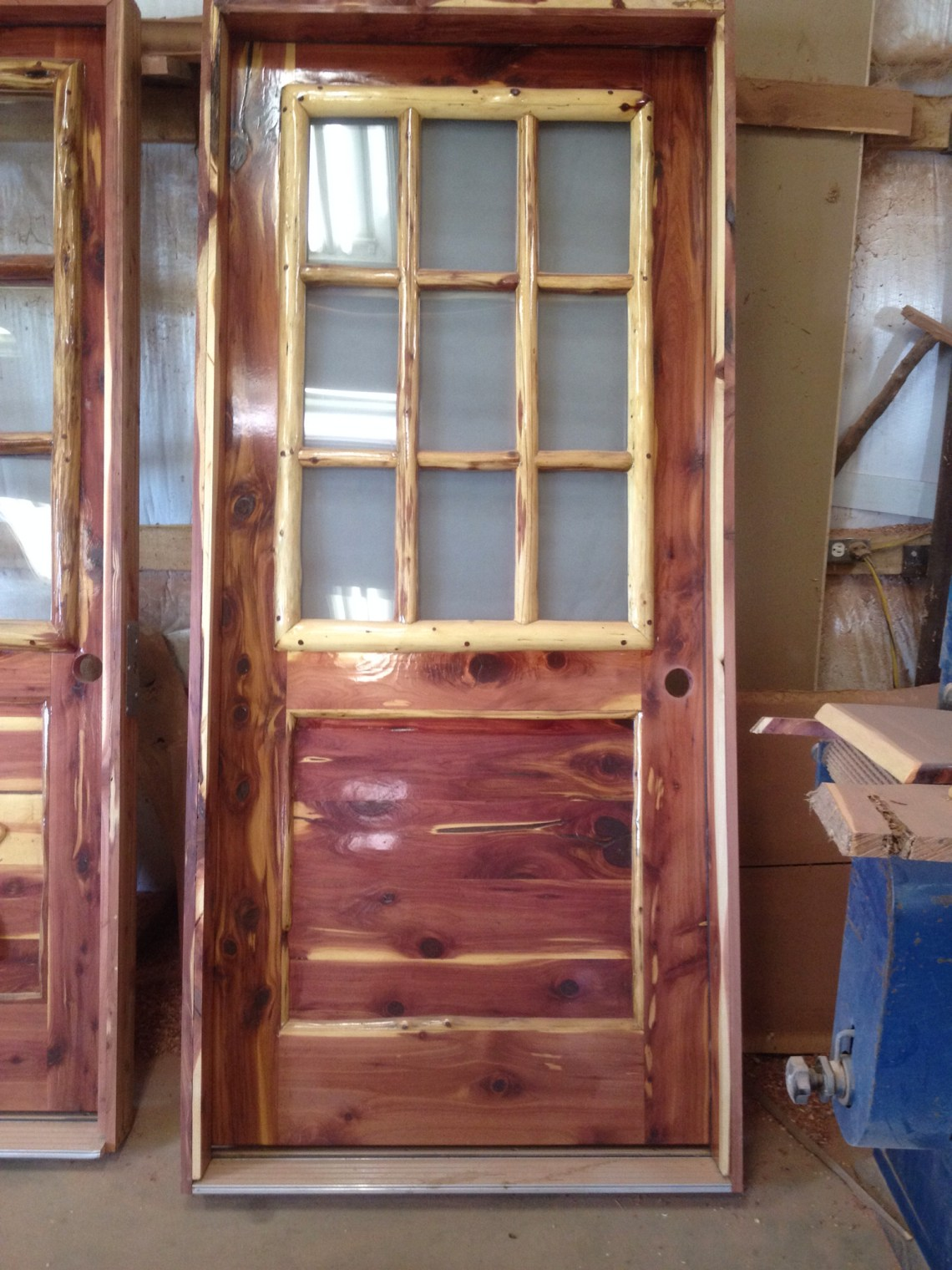 Why A Cedar Exterior Door All Design Doors Ideas
