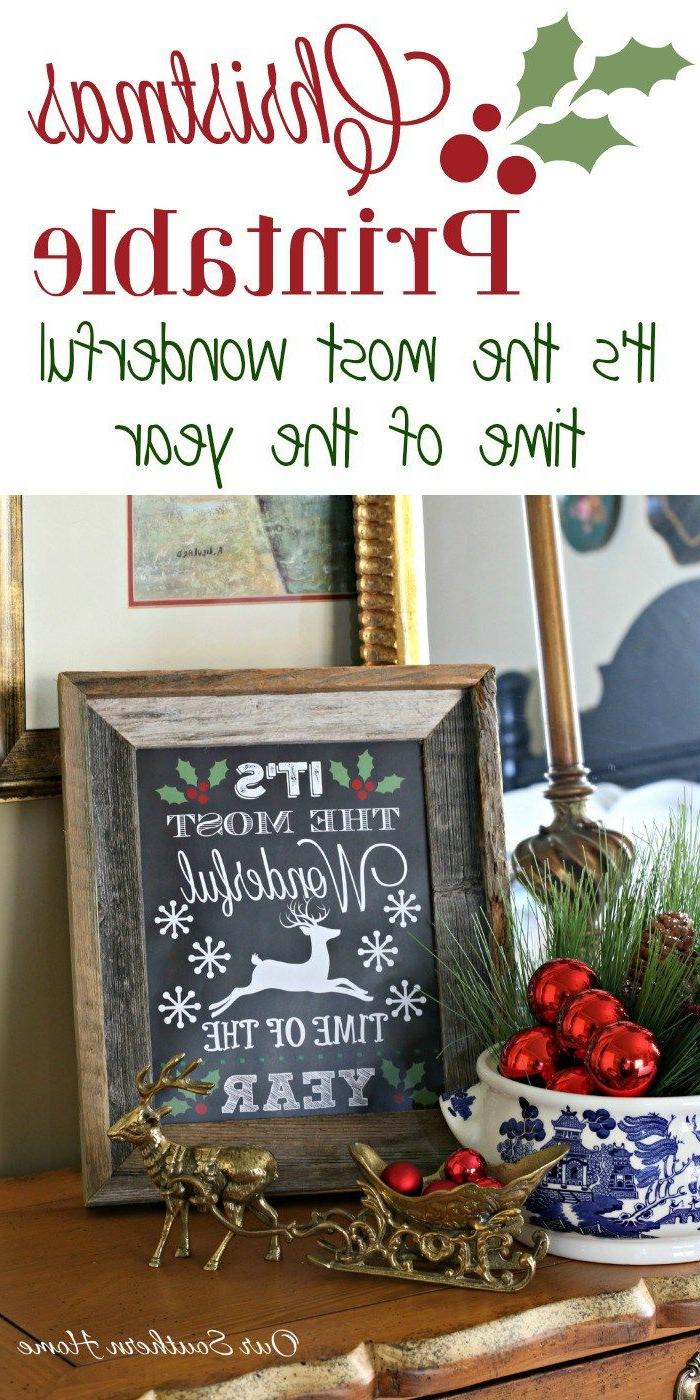 Wonderful Christmas Printable Christmas Printables