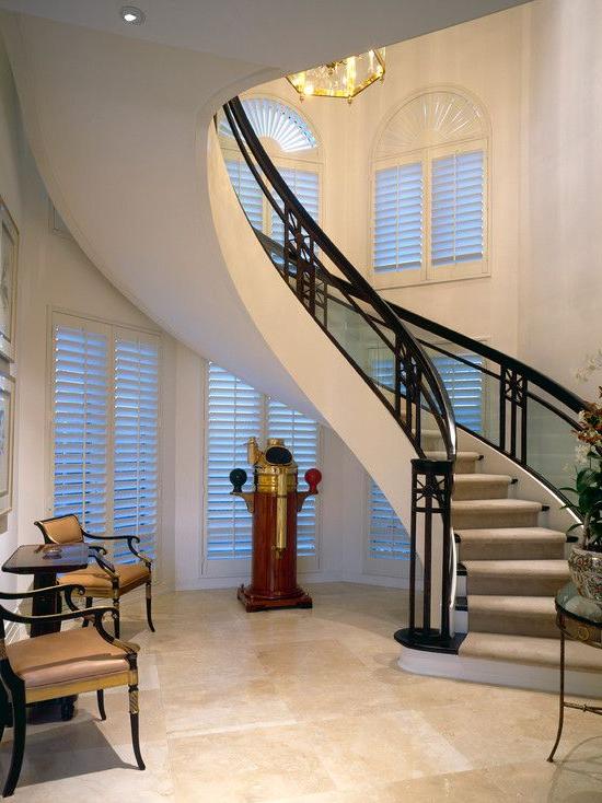 Wonderful Custom Home Interior With Elegant Decor Awesome
