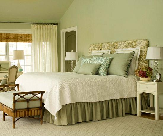 Right Arrangement for Sage Green Master Bedroom   Home ...