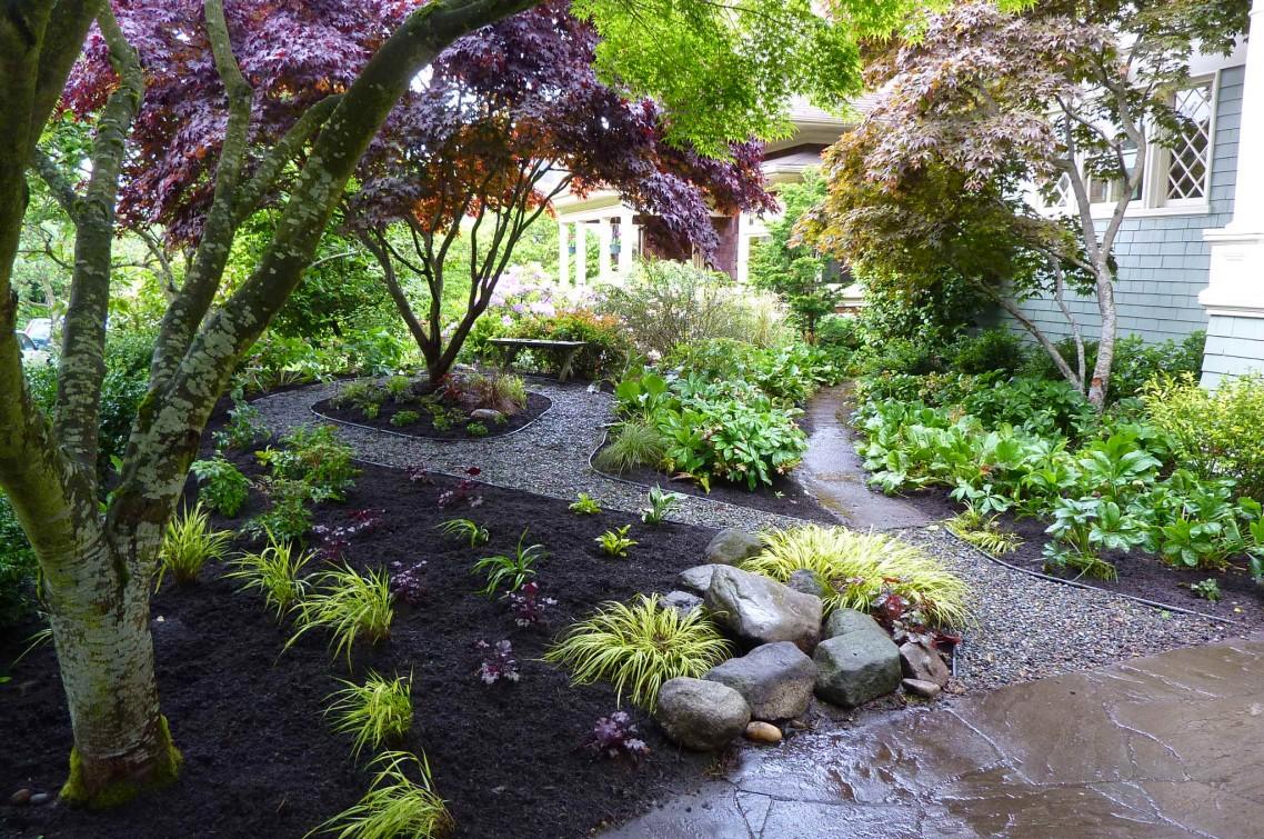 Garden Area | homedecorsgoa on Backyard Hill Landscaping Ideas  id=90498