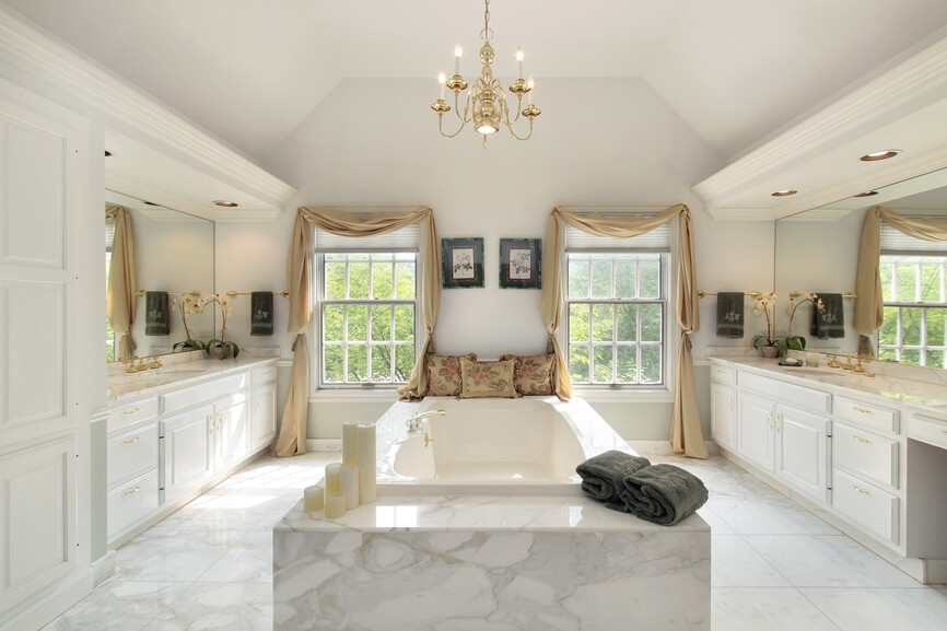 154+ Great Bathroom Ideas and Designs for Every Budget ... on Great Bathroom Ideas  id=77811