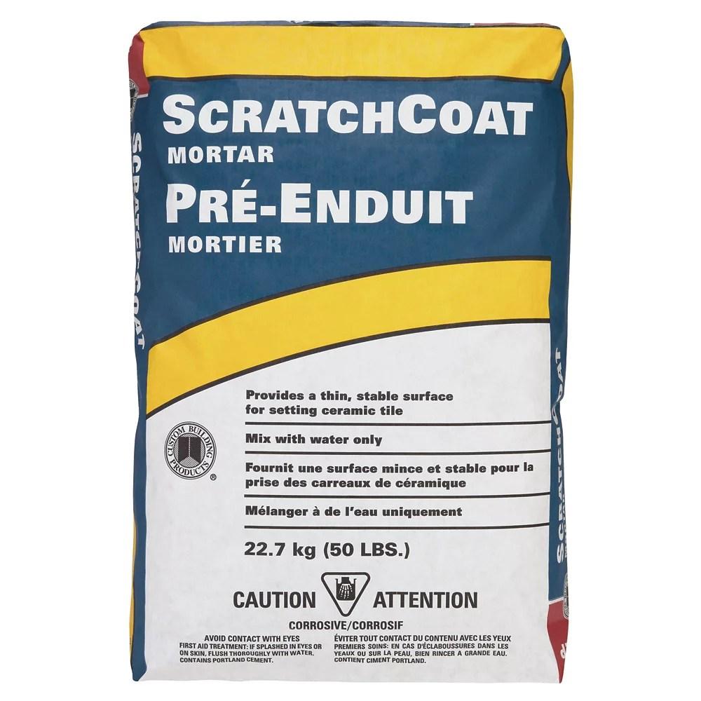 scratchcoat mortar grey 50lb