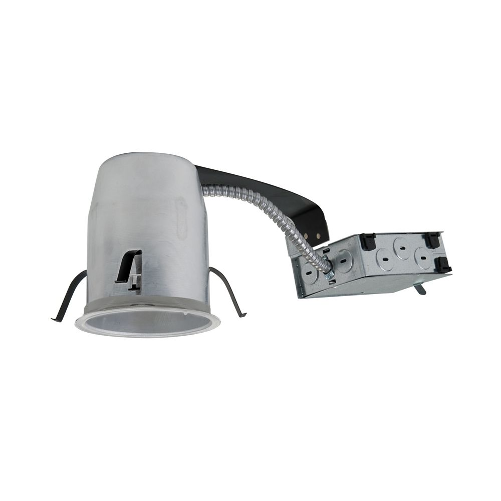 4 inch ic non ic air tite remodel led recessed lighting housing
