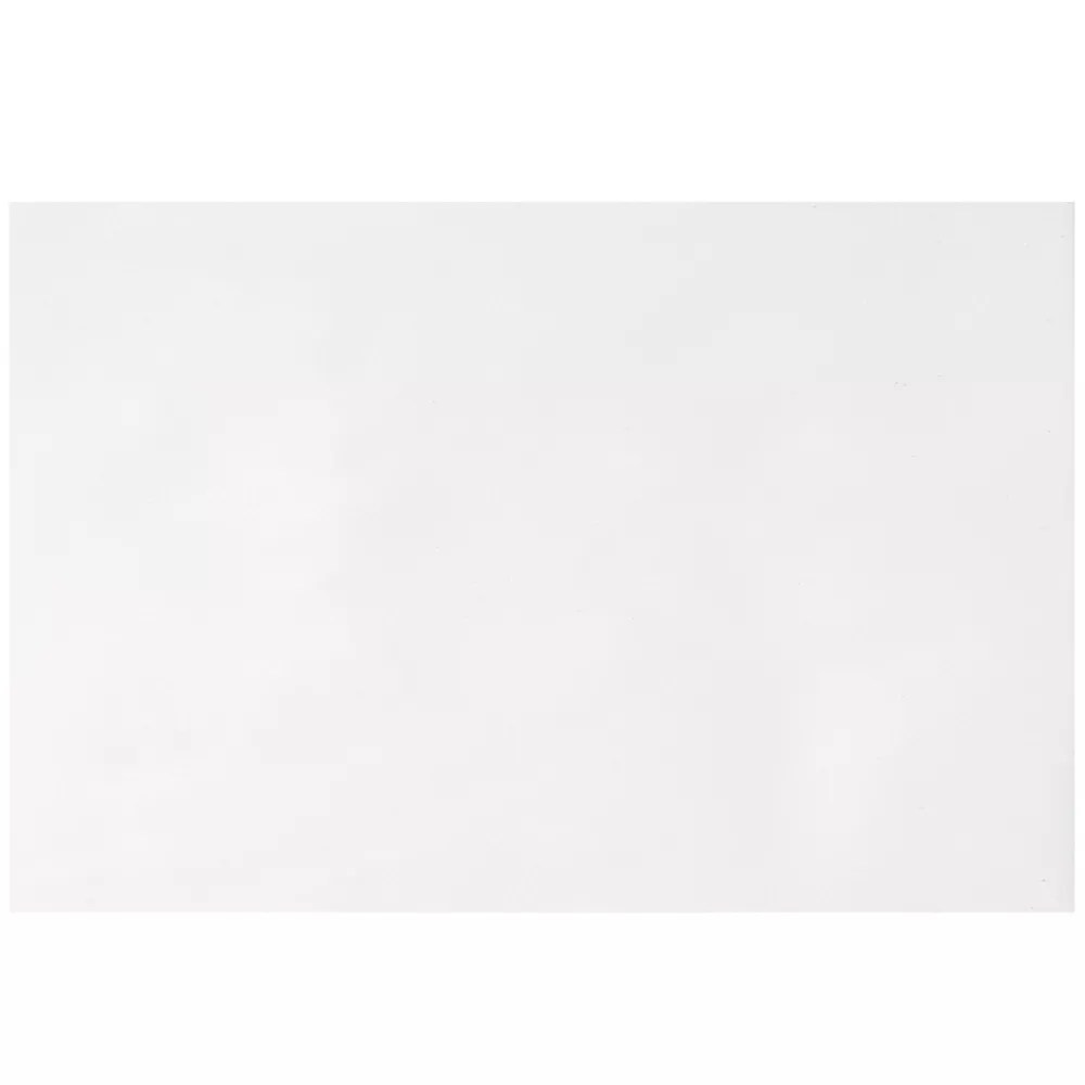 polaris 12 inch x 18 inch ceramic floor and wall tile in gloss white 15 sq ft case