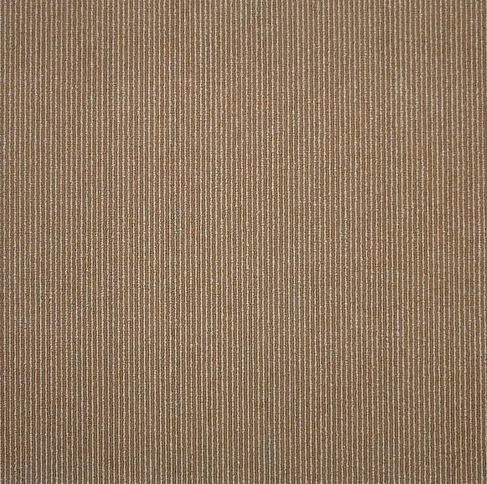 19 69 inch x 19 69 inch beige cocoa bailey stripe carpet tile 26 9 sq ft case