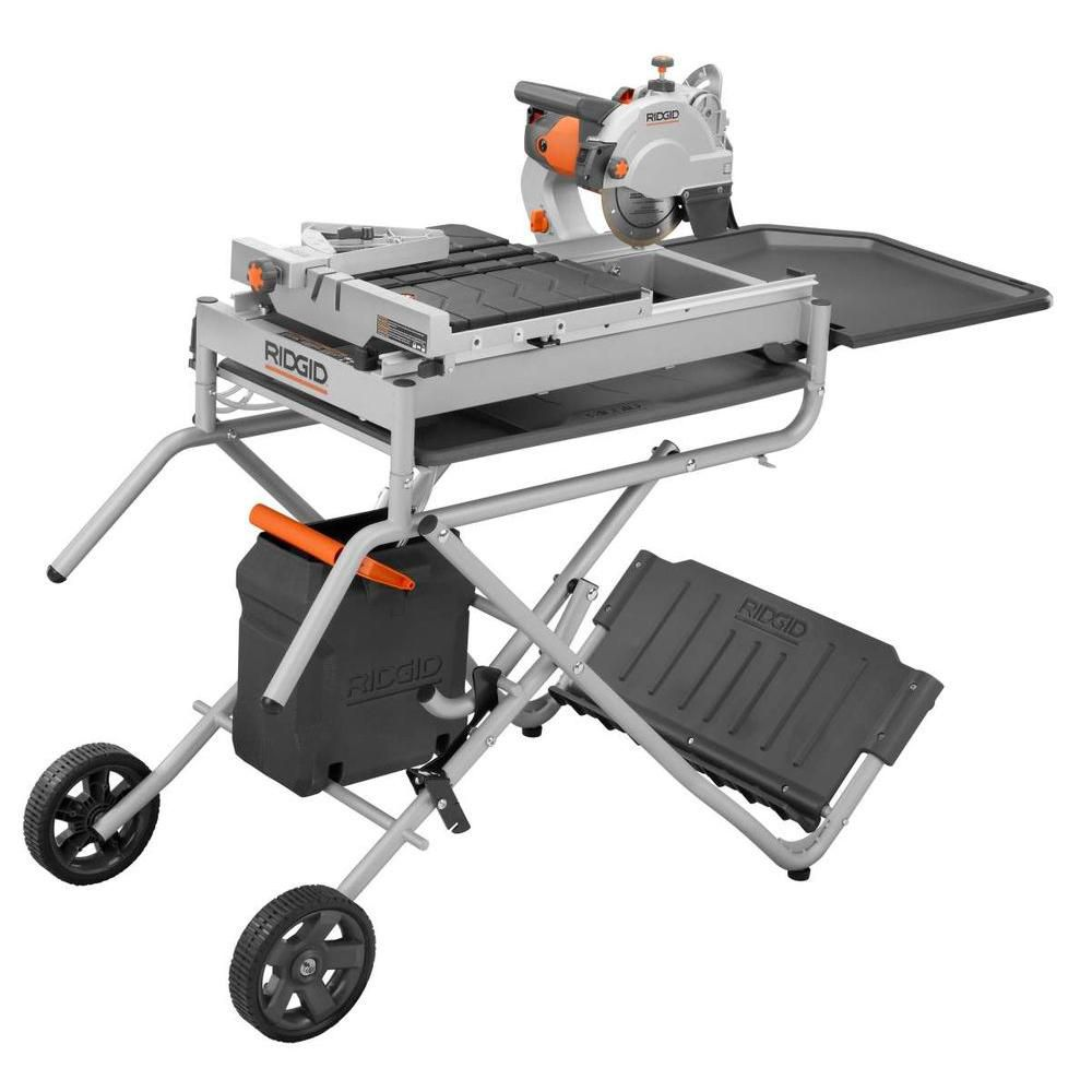 7 inch portable tile saw with laser