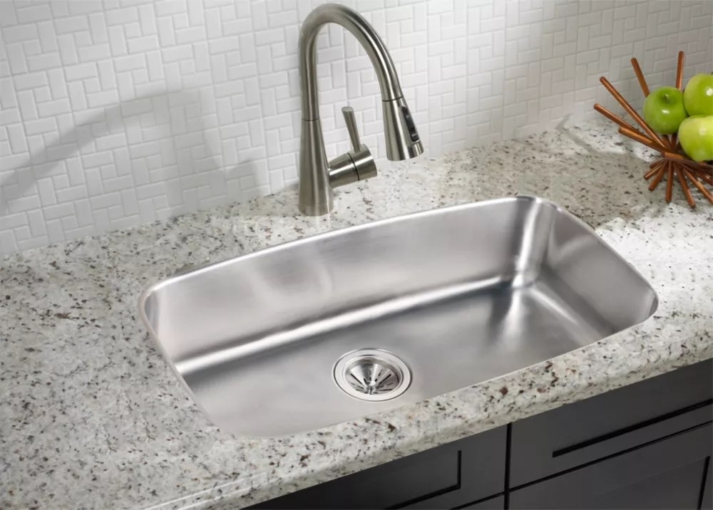 large single bowl undermount sink 18 gauge stainless steel 29 inch x 17 inch x 8 inch