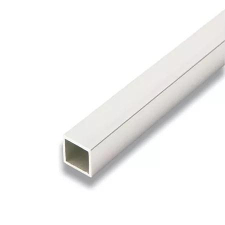 metal tube carre aluminium 3 4 po x 3 4 po x 8 pied