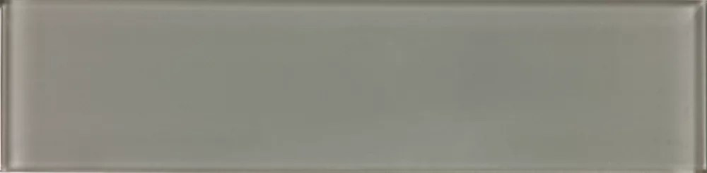 3 inch x 12 inch glass tile in graphite