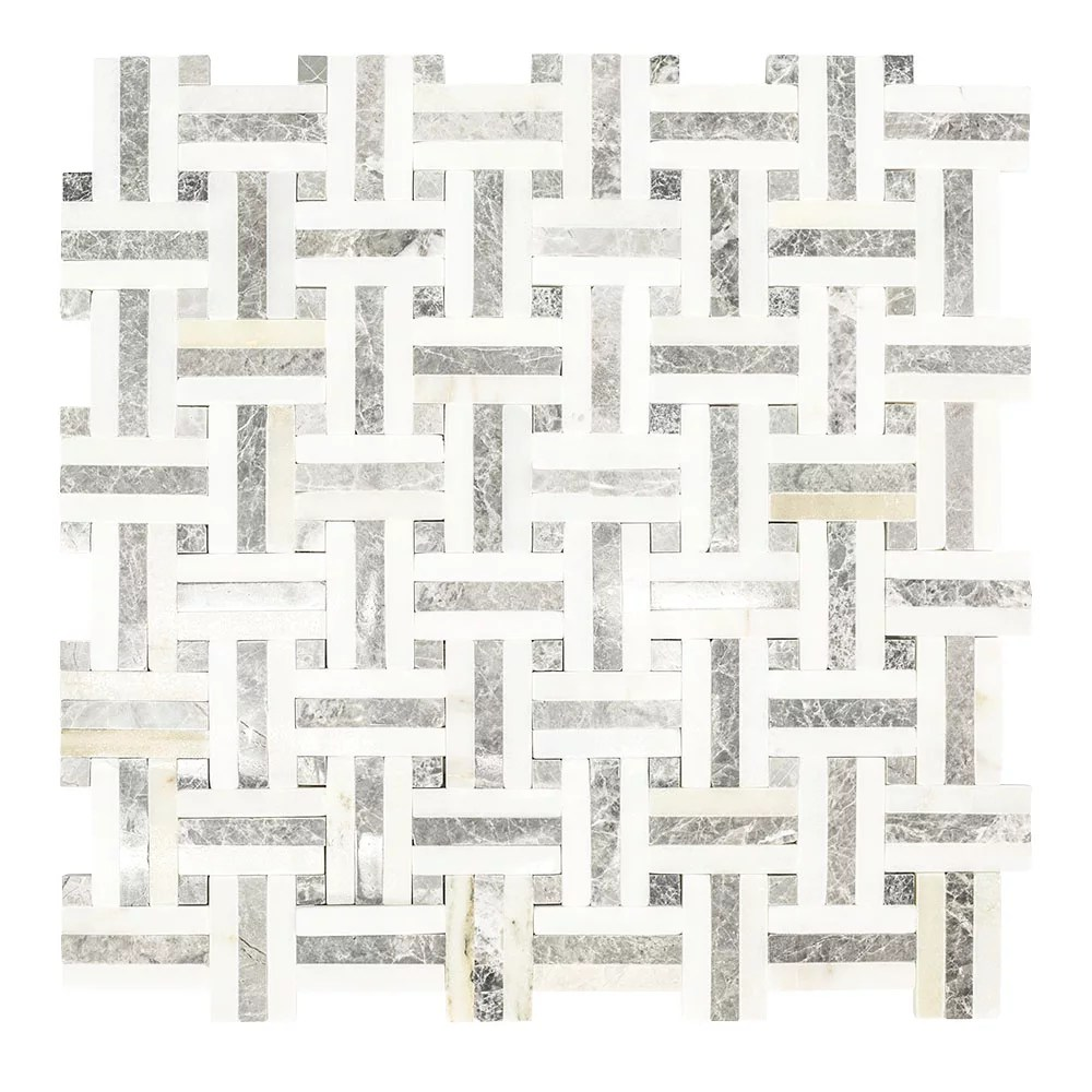 windswept 12 75 inch x 12 375 inch x 8 mm marble mosaic wall tile