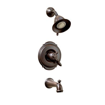 victorian collection 17 series 3 spray tub shower faucet valve sold separately