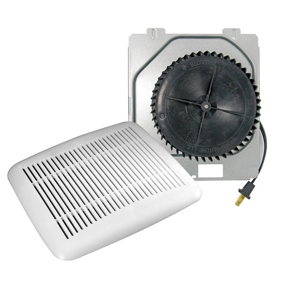 60 cfm 3 sones 10 minute bath fan upgrade kit