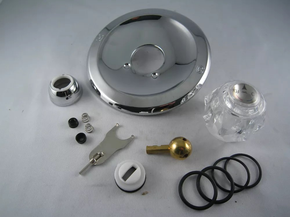 replacement rebuild kit for delta peerless single handle tub and shower faucet