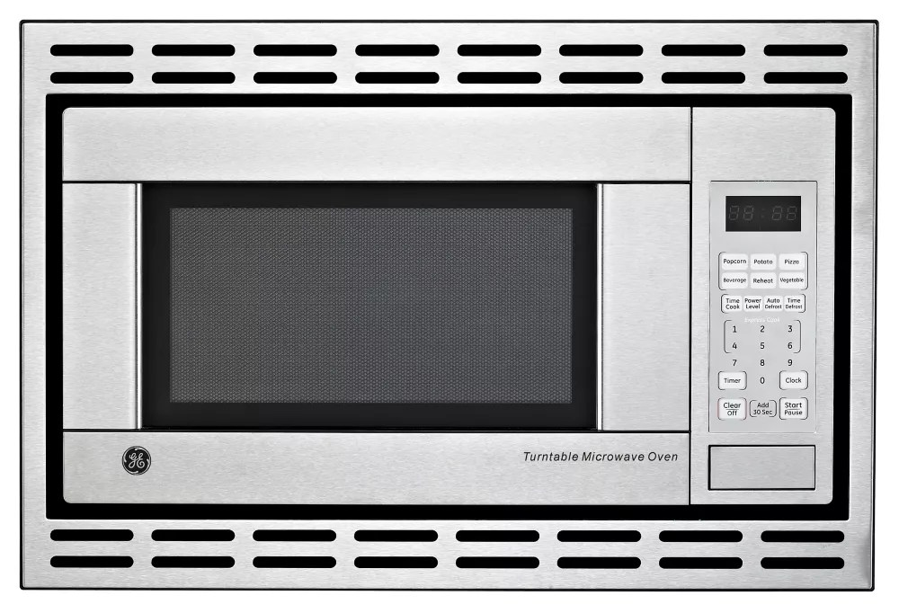 1 1 cu ft built in microwave oven in stainless steel