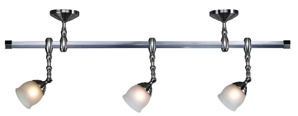 3 light 42 inch suspended track kit