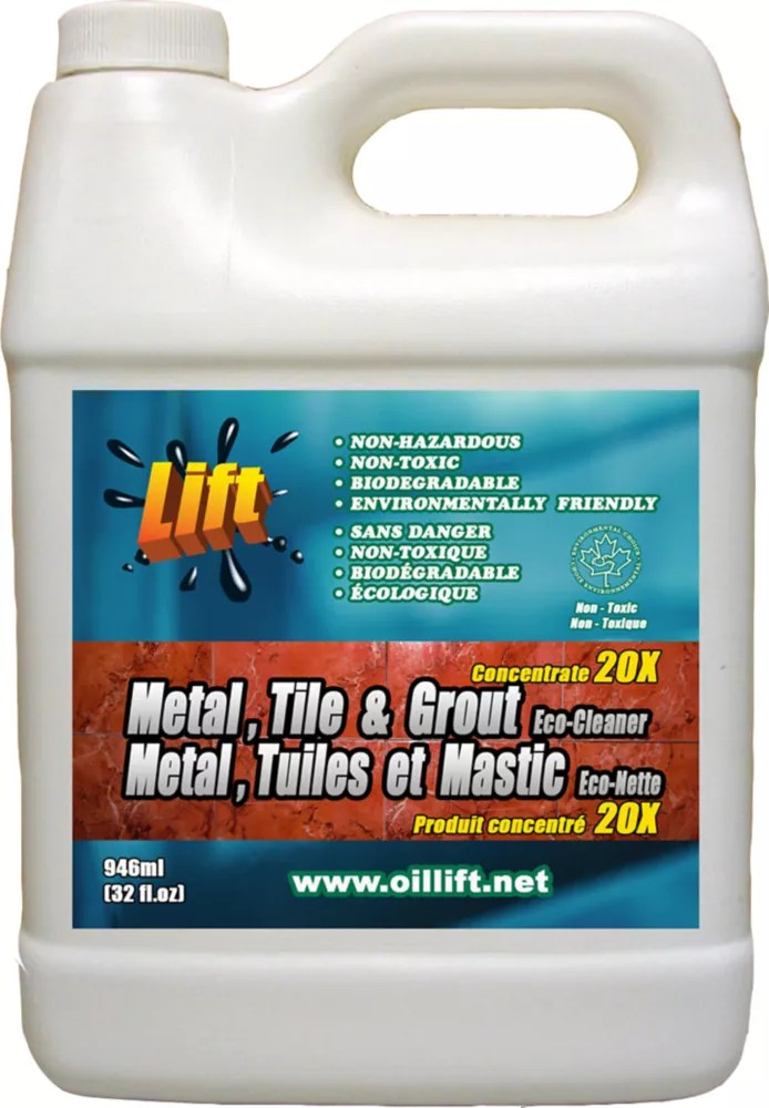 948 ml industrial strength non toxic metal tile grout cleaner