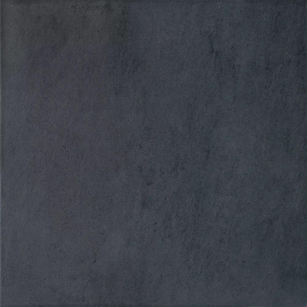 13 inch x13 inch cinq black floor tile
