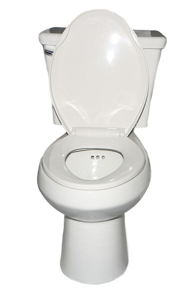 Penguin Llc The Penguin Toilet With Overflow Protection Single Flush Elongated 2 Piece T The Home Depot Canada