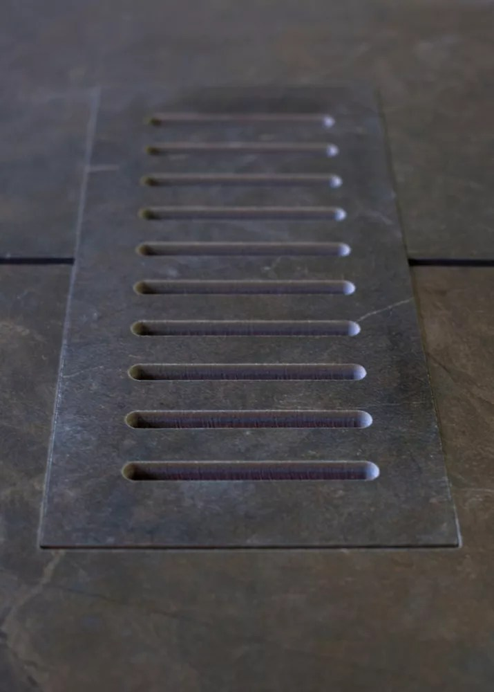 ceramic vent cover made to match city scape tile size 5 inch x 11 inch
