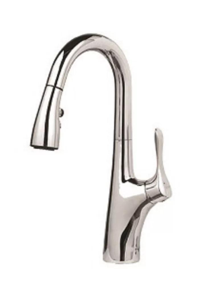 napa pull down dual spray bar prep faucet chrome