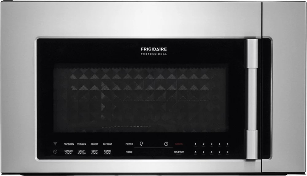 30 inch w 1 8 cu ft 2 in 1 over the range convection microwave in stainless steel
