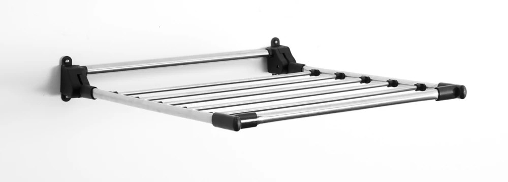 wall mounted stainless steel drying rack