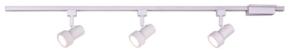 mini step 44 inch white integrated led linear track lighting kit