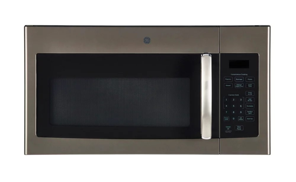 30 inch w 1 6 cu ft over the range microwave in slate