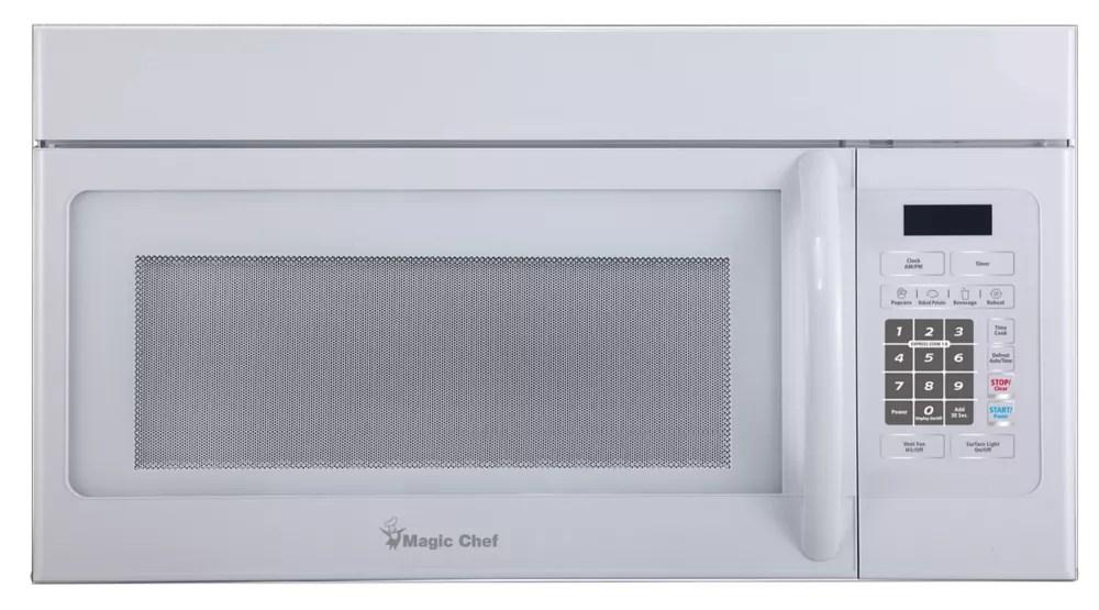 1 6 cu ft oer the range microwave in white