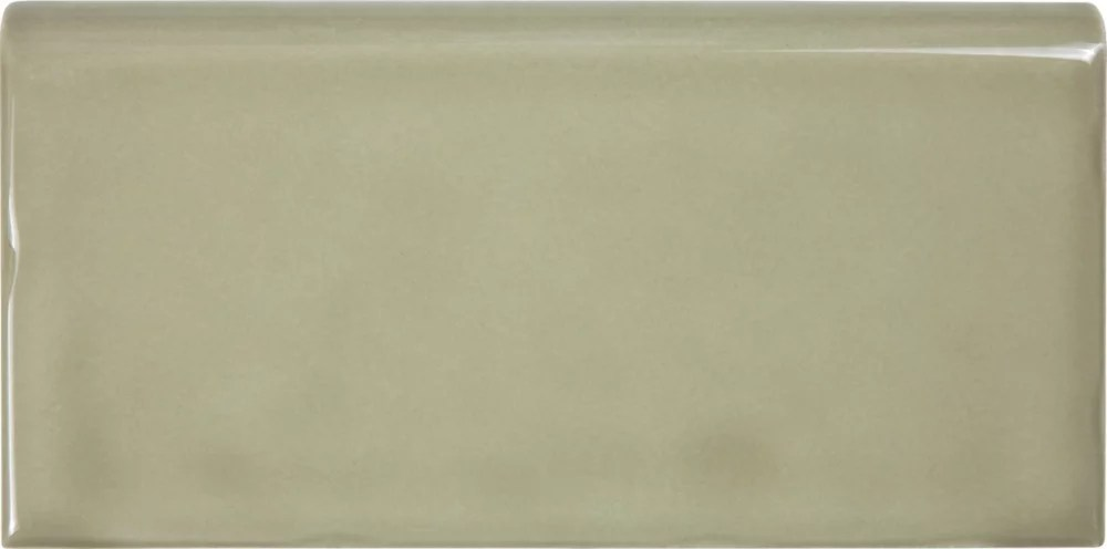 wolfe creek 3 inch x 6 inch bullnose tile in sage