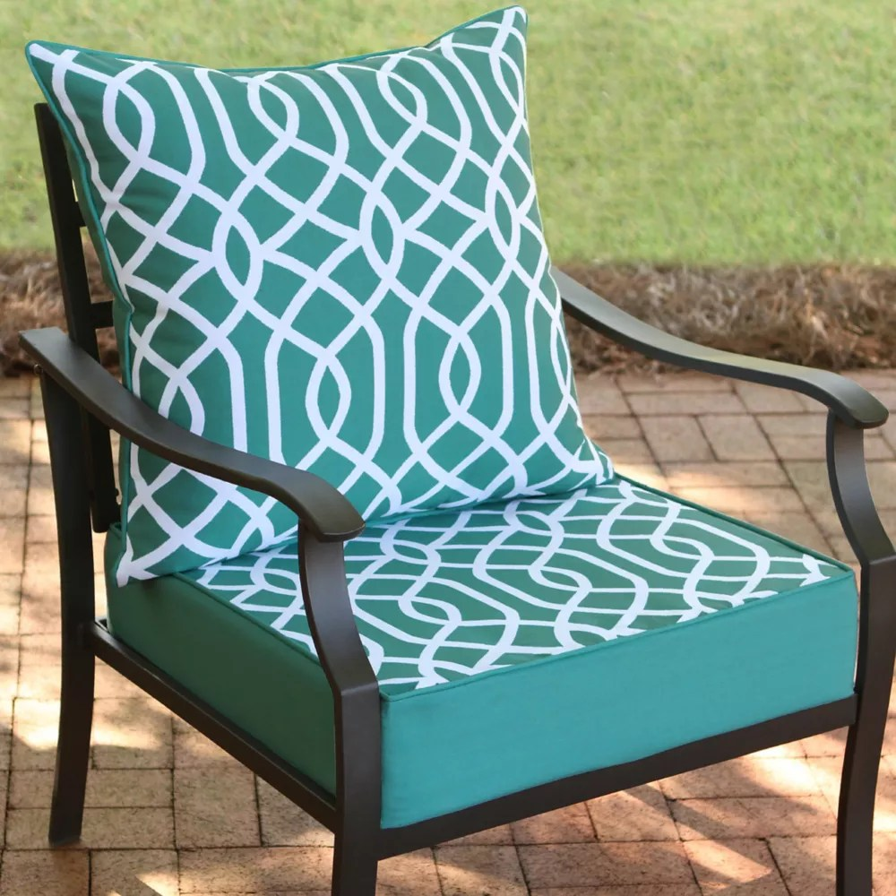 24 inch w x 24 inch d x 20 inch h patio deep seating set in coleman geo 2 piece