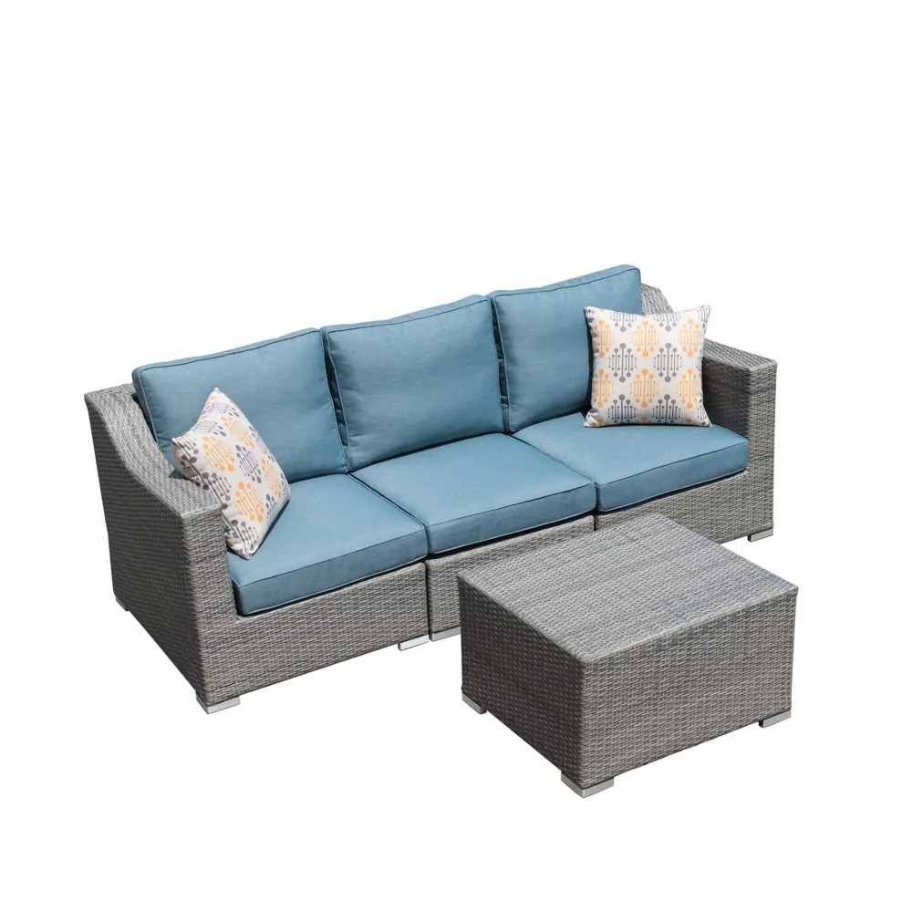 kavala 4 piece patio sofa set