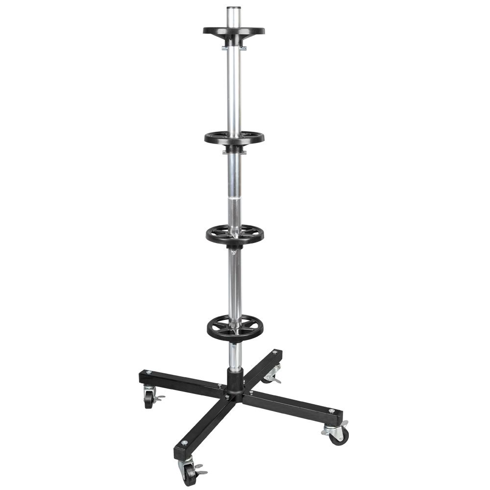 42 2 inch tire rack with rolling casters