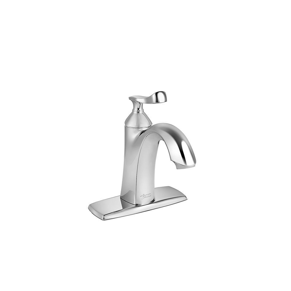 chatfield single hole single handle bathroom faucet in polished chrome