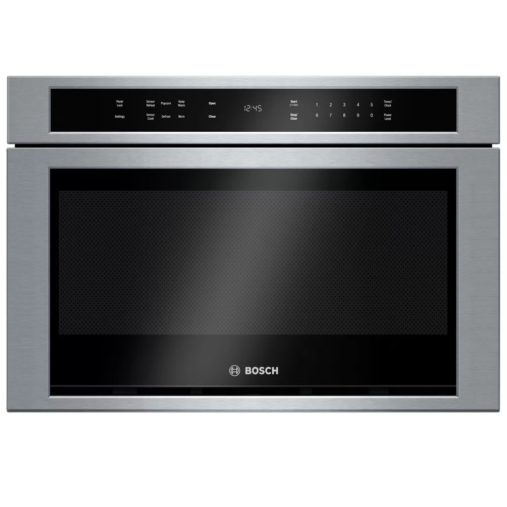 bosch 800 series 24 inch built in drawer microwave oven