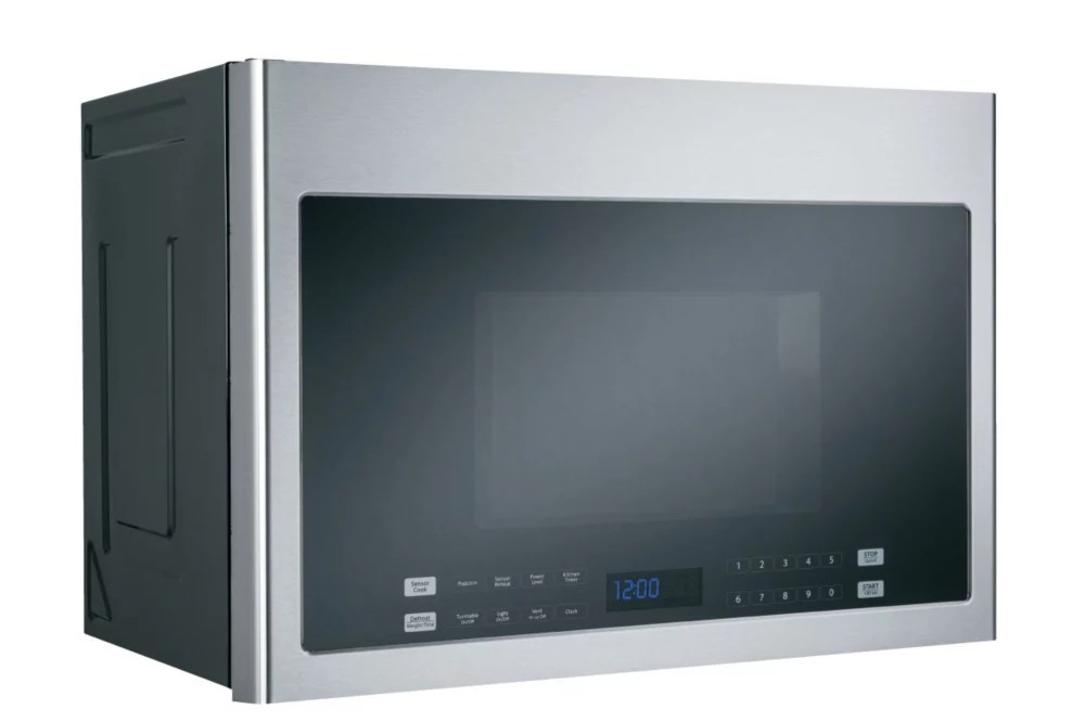 24 inch 1 4 cu ft over the range microwave in stainless steel