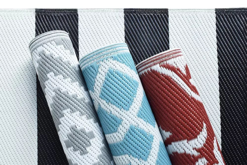 decorative 6 ft x 9 ft outdoor area rug assorted colours